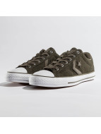 Converse Star Player Sneaker Medium Olive/White/Black
