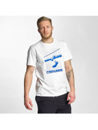Converse T-Shirt Hanging Chucks Photo weiß