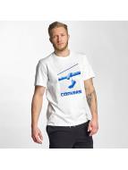Converse T-Shirt Hanging Chucks Photo weiß