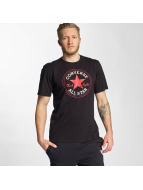 Converse t-shirt Core Chuck Patch zwart