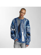 Coogi Jumper Patchwork blue