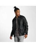 Cordon Leather Jacket Marv black