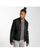 Cordon Leather Jacket Luke black