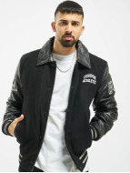 Cordon Leather Jacket Bronx black