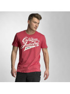 Cordon T-Shirt Sherman red