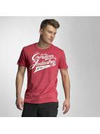 Cordon T-shirtar Sherman röd
