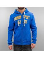 Cordon Zip Hoodie Gaston niebieski