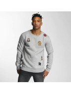 Criminal Damage Пуловер Emblem серый