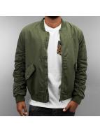 Criminal Damage Bomber jacket Airforce khaki