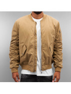 Criminal Damage Bomberjacke Airforce beige