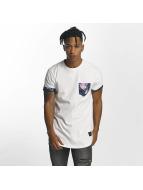 Criminal Damage Puglia Pocket T-Shirt White/Multi
