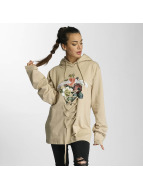 Criminal Damage Hoodie Escher Lace beige