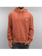 Criminal Damage Hoodie Grave brown