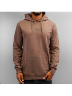Criminal Damage Hoodie Now brown