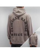Criminal Damage Hoodie Grave grey