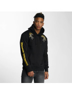 Criminal Damage Hoodies Tygra svart