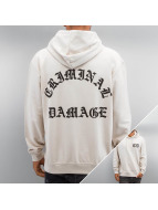 Criminal Damage Hoody Whitechapel beige