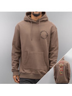 Criminal Damage Hoody Dragon braun