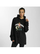 Criminal Damage Hoody Escher Lace schwarz