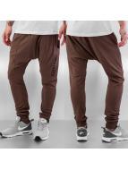 Criminal Damage Jogging pantolonları Drop kahverengi