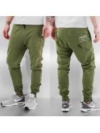 Criminal Damage Jogging pantolonları Shoreditch zeytin yeşili