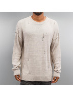 Criminal Damage Pullover Chapel Knit beige