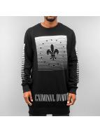 Criminal Damage Pullover Surrender noir