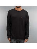 Criminal Damage Pullover Chapel Knit noir