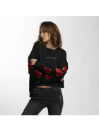 Criminal Damage Pullover Eden Sweat noir