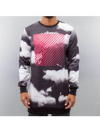 Criminal Damage Pullover Skies Long S schwarz