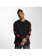 Criminal Damage Pullover Rosa schwarz