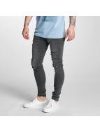 Criminal Damage Skinny Jeans Koko grau