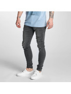 Criminal Damage Skinny Jeans Koko grey