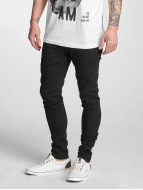 Criminal Damage Skinny jeans Ripper svart