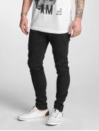 Criminal Damage Skinny jeans Ripper zwart