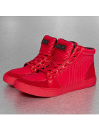 Criminal Damage Sneaker Rocky High Top rosso