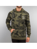 Criminal Damage Sweat à capuche Army camouflage