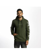 Criminal Damage Sweat capuche Paulo olive