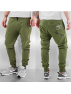 Criminal Damage Sweat Pant Shoreditch olive