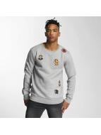 Criminal Damage Swetry Emblem szary