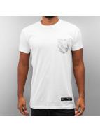 Criminal Damage T-shirt Lime bianco