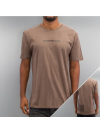 Criminal Damage T-Shirt Now brown