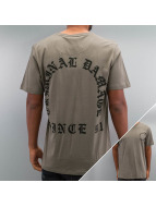 Criminal Damage T-Shirt Grave grau