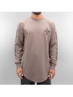 Criminal Damage T-Shirt manches longues Sev brun