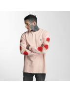 Criminal Damage T-Shirt manches longues Rosa rose