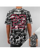 Criminal Damage T-Shirt Scribble noir