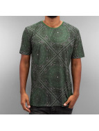 Criminal Damage T-Shirt Paisley olive