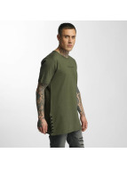 Criminal Damage T-Shirt Lace olive