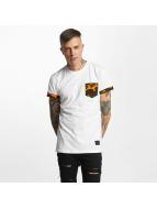 Criminal Damage T-Shirt Dazzle weiß