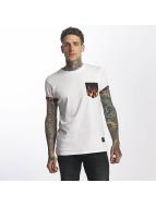 Criminal Damage Flame Pocket T-Shirt White/Multi